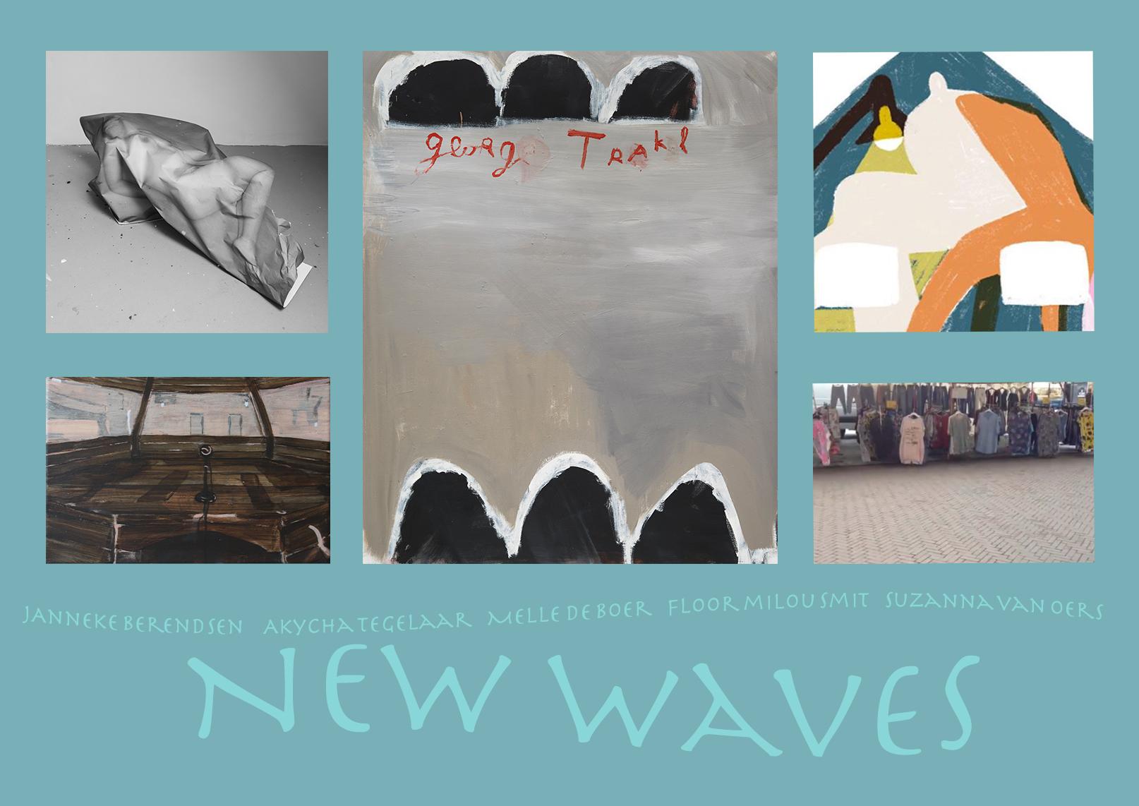 New Waves : Onze Eerste Multimediale Expositie