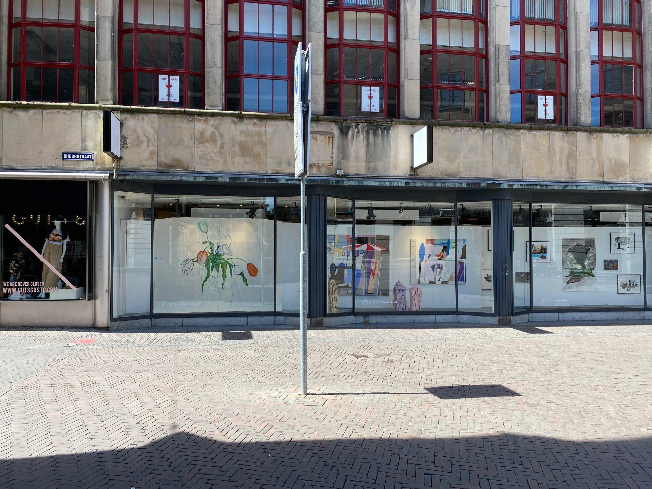Moving Gallery Juni 2020 In Voormalig Broese Op Stadhuisbrug
